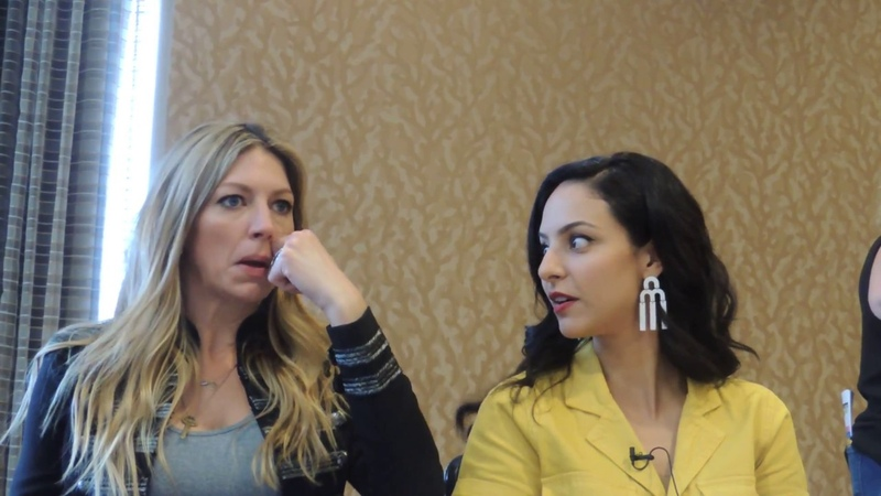 BB Exclusive Jes Macallan and Tala Ashe Preview DCs Legends of Tomorrows New Season at SDCC