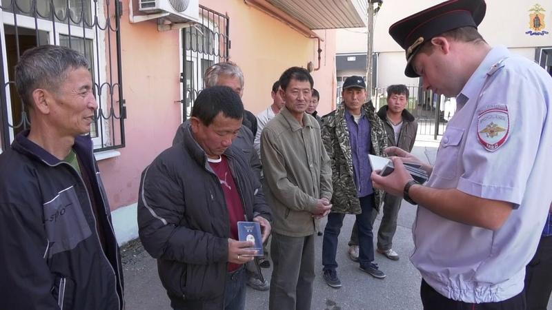 Рязанская полиция провела рейды по выявлению нарушений миграционного законодательства
