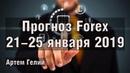 Прогноз форекс на неделю 21.01.2019 - 25.01.2019