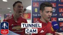 Inside Access as United Reach Final!   Manchester United 2-1 Tottenham Tunnel Cam   Emirates FA Cup