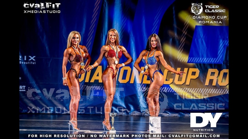 Tiger Classic Day 1 Bikini Fitness 162, 172, 172 cm and Overall Winner