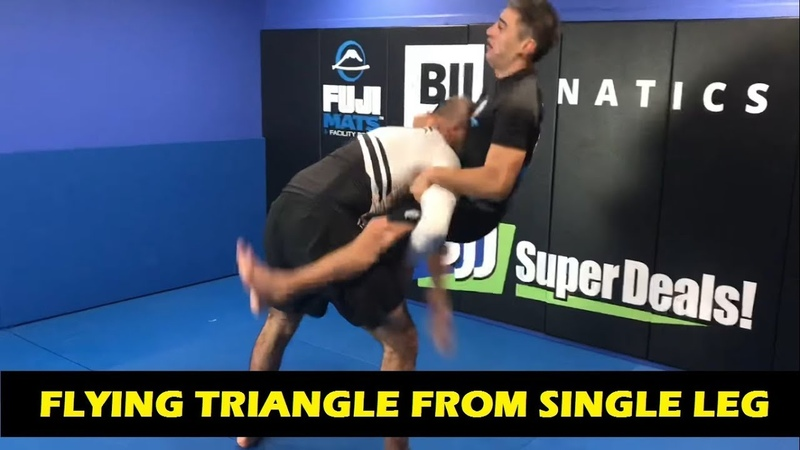 Flying Triangle From Single Leg by Mario Delgado