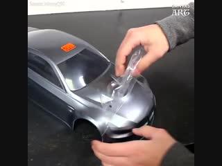 Супер-быстрая модель авто на нитро