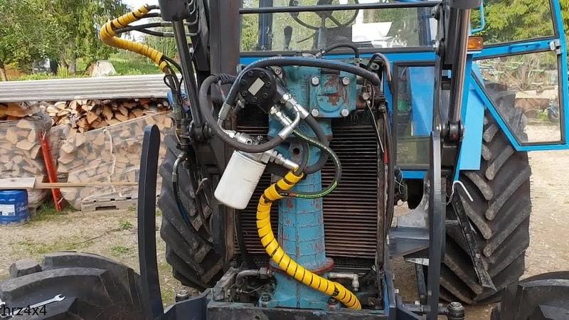 Belarus MTZ 82 restoration project Part 21 Hydraulic steering