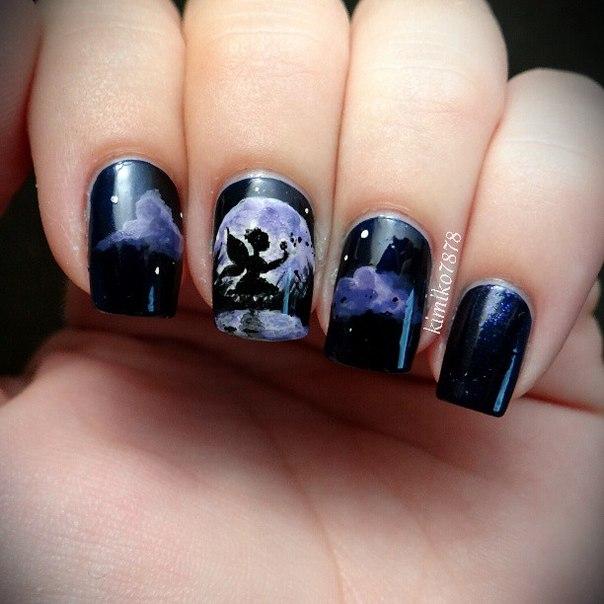 Рисунки на ногтях фото интересные