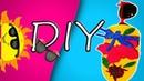 DIY яркие чехлы для очков своими руками с нуля /Летний DIY/Бюджетные чехлы /Новые идеи своими руками