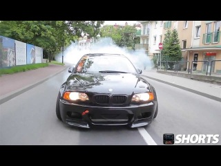 BMW M3 E46 Supercharged DRIFTING On The Street
