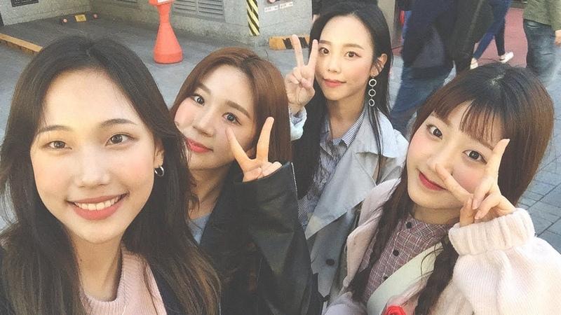 [VLOG] Idol school students' hangout 아이돌학교에서 만난 언니들과 데이트