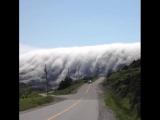 Облачный водопад. Ничего не напоминает?