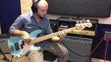 Precision Bass, Daphne Blue relic 24 frets custom vintage series - Rufini Fine Instruments