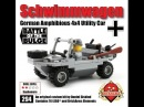 Brickmania Schwimmwagen Review