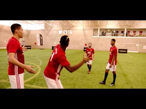 Shoot-Out Challenge w. Paul Pogba, Juan Mata, Marcus Rashford Chris Smalling | Chevrolet FC