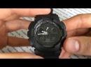 Обзор мужских часов Casio G-SHOCK GA-100-1A1