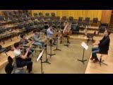 Ian Bousfield coaches Mahler 3