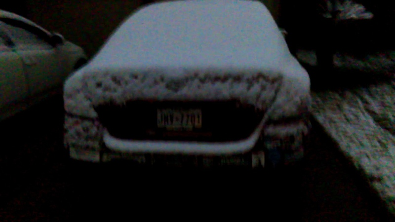 Snow in Pearland Texas 12/8/17