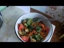 Здоровый вегетарианский горячий салат от Ольги Масловой