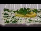 Рецепт   Сельдь под сметанным соусом