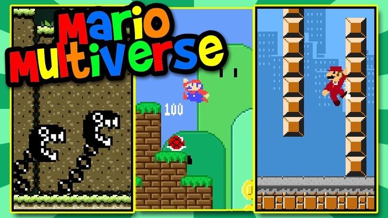 9 Mario Multiverse Levels! | Like Super Mario Maker | BTG