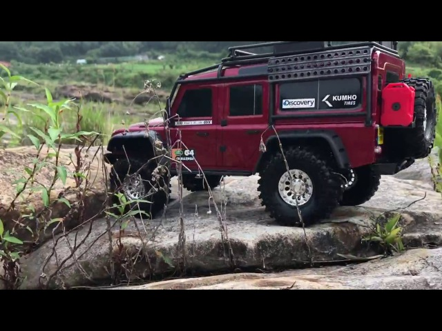 Traxxas TRX-4 LandRover Defender - Rock Trail