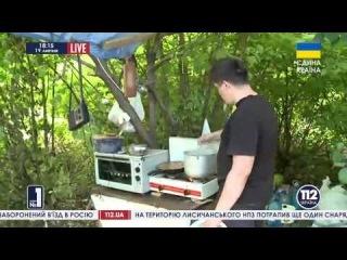 О жизни солдат на блокпостах в зоне АТО - сюжет телеканала