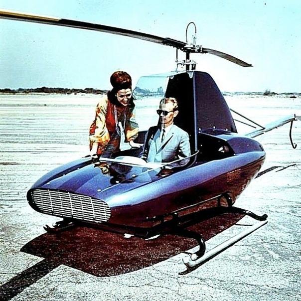 Одноместный вертолет 1964 года