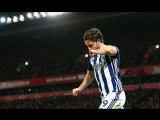 Jay Rodriguez. All goals for West Bromwich 201718