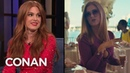 Isla Fisher: Everyone Was Stoned On The Set Of The Beach Bum - CONAN on TBS