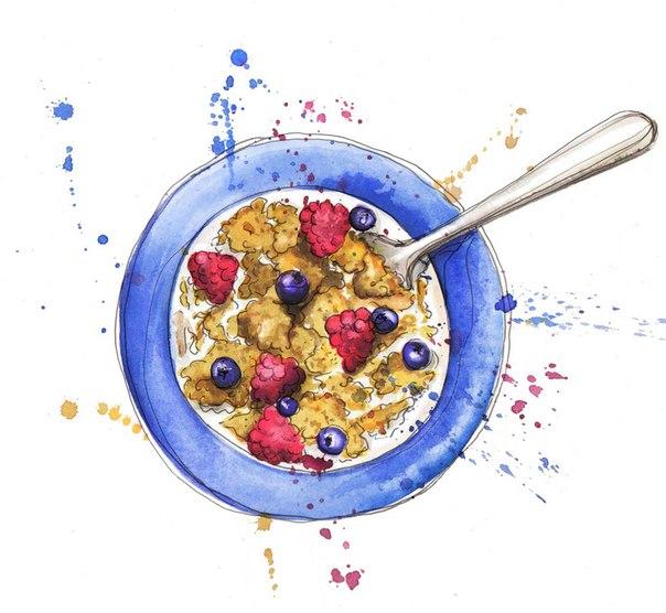 Картинки с едой от Georgina Luck