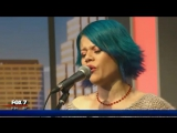 Allison Iraheta &amp Halo Circus - Band Aid (Music in the Morning)