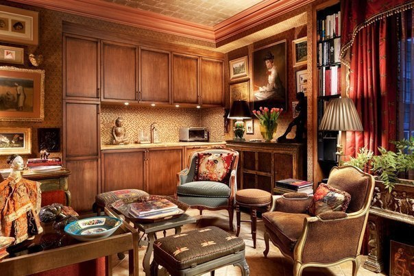 Квартира студия в Нью-Йорке площадью 25 кв.