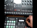 Amazing combination of Elektron devices and modular synths dd deeplomatdublatov production