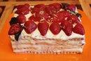 Простой торт из печенья
