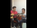 Here Without You (cover on 3 Doors Down) Андрес и Мисис под гитару на английском, супер