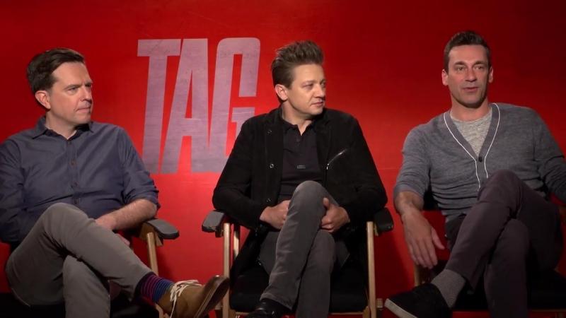 TAG - Jeremy Renner, Jon Hamm, Ed Helms