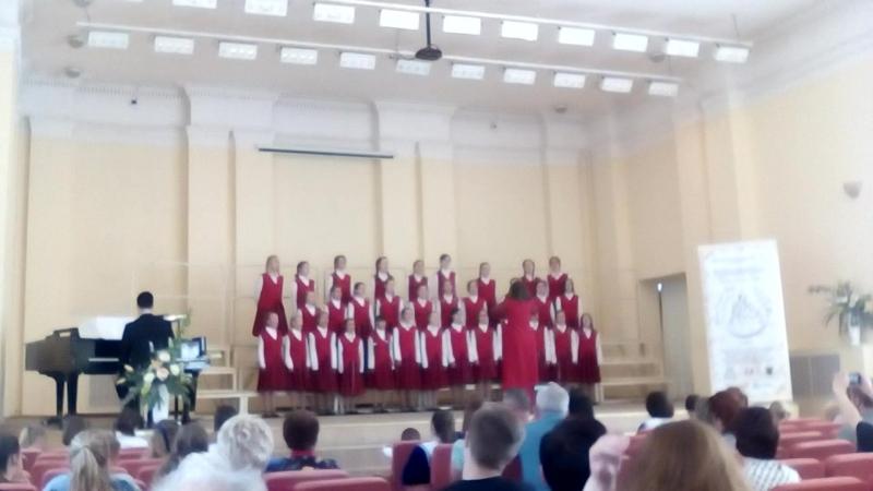Юные Голоса Онего - 2018. Старший концертный хор