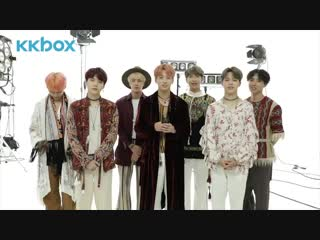 181106 BTS Message - 9th Japanese Single Release @ KKBOX Japan