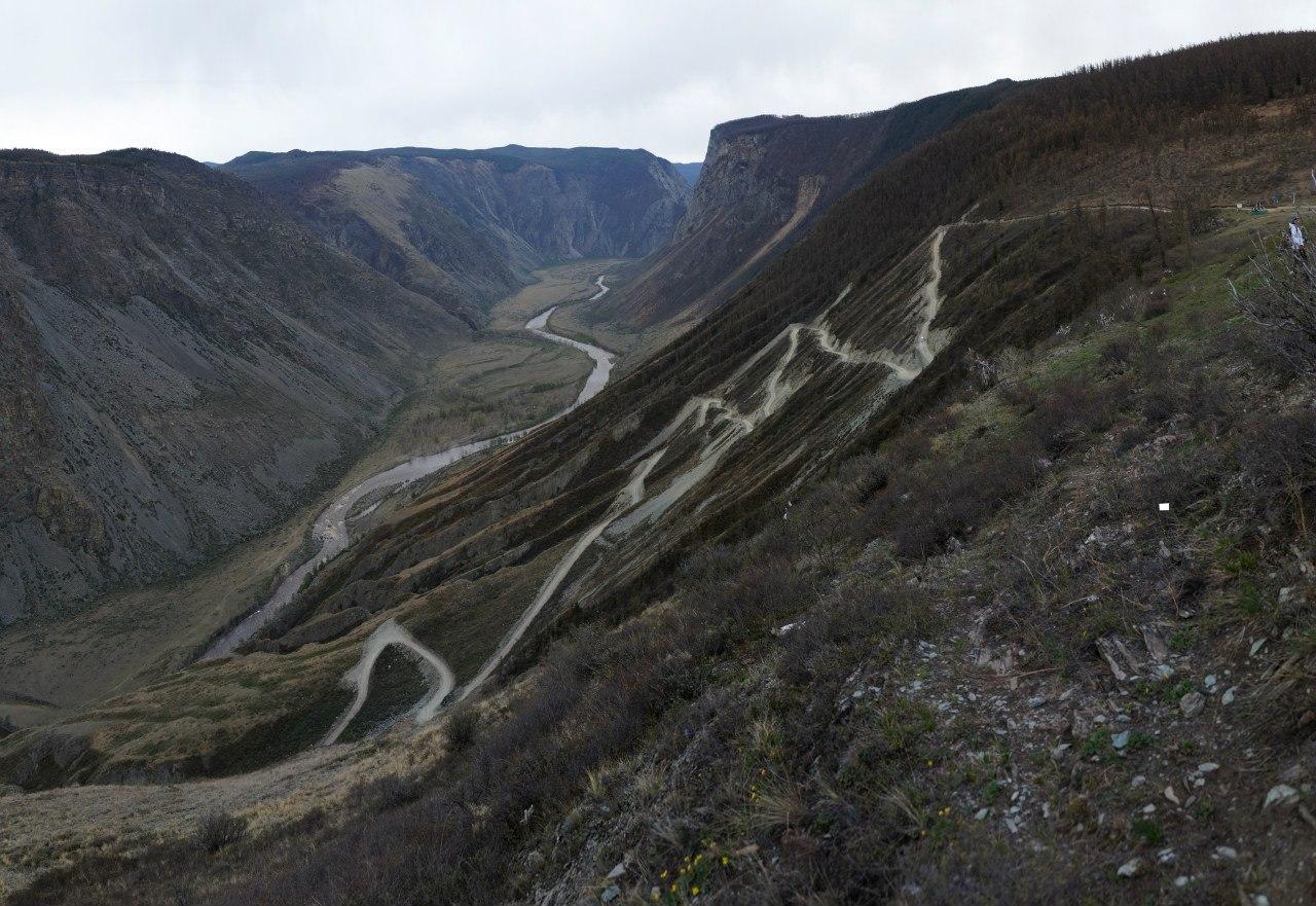 Кату-ярык перевал Горный Алтай
