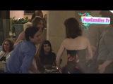 Kaley Cuoco Sweeting & Ryan Sweeting meet up with Ben Feldman & Michelle Mulitz in LA