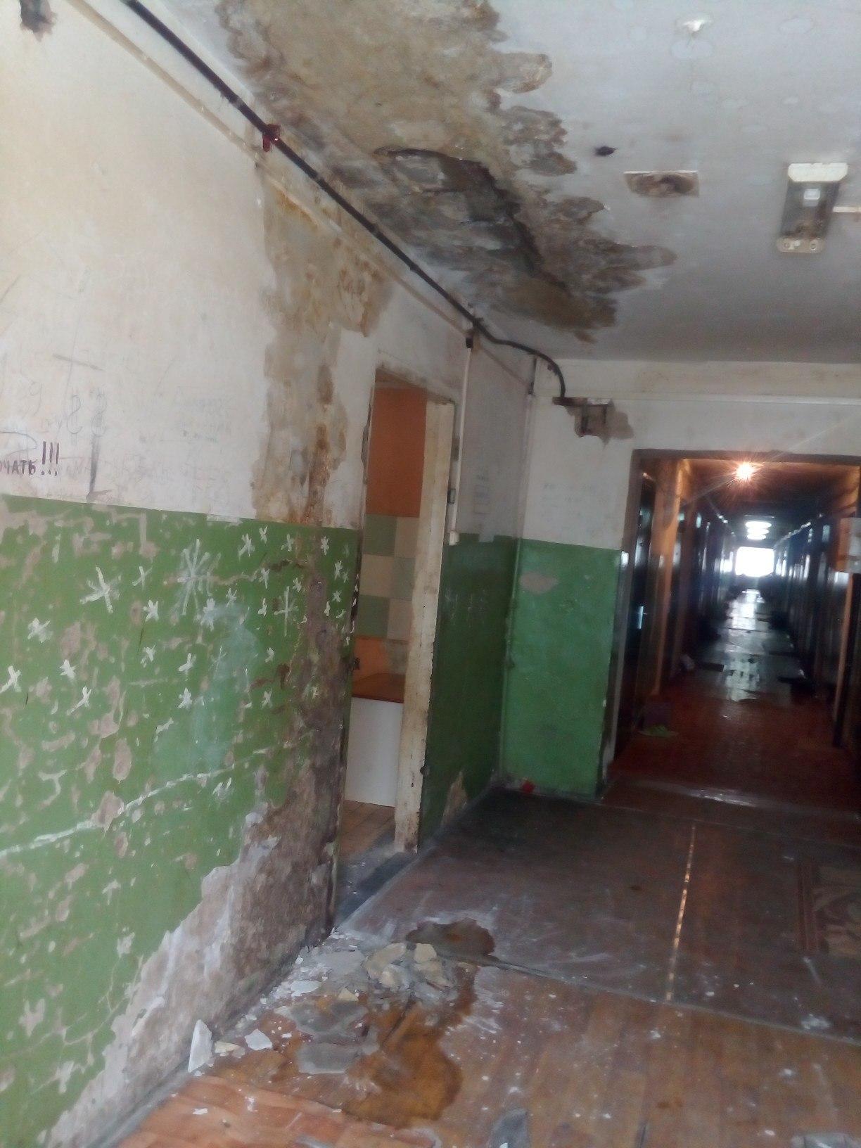 Жители тюменского общежития боятся идти в душ 2