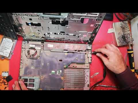 Dell Latitude E5400 No Power On Fault Fix by Electronics Tips Tricks