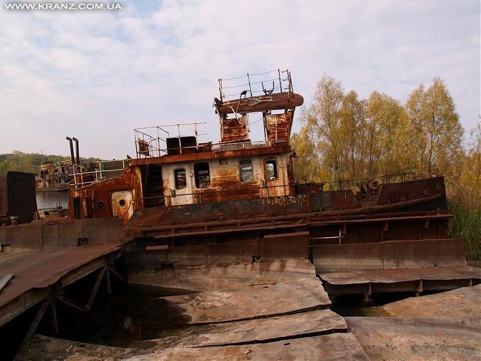 клабдище запрошенных судов Припять чернобыль