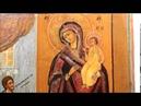 Купить намоленную икону - Старинная икона Богородицы Нечаянная Радость. DR0340