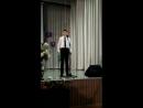 Сын Иван на творческом вечере выпускников Галины Григорьевны в Полянской ДШИ 17.05.2018