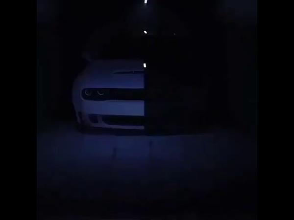 Dodge Challenger Black and white