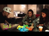 Selena Gomez with Lady La and JD hippo