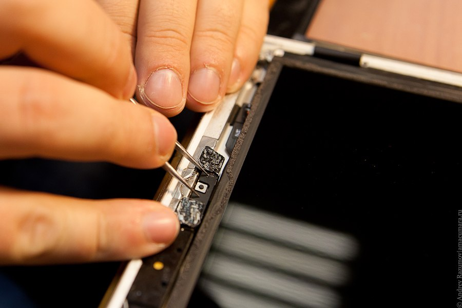ремонт Apple ipad 4