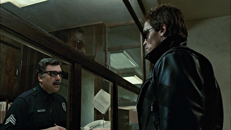 The Terminator Police Station Shootout 4K