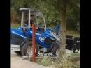 📹 Видео пособие как замешивать бетон в ковше трактора 💡