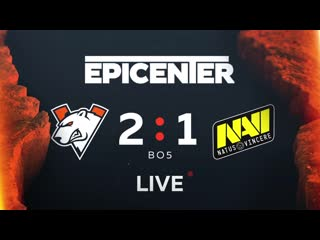 Virtus.pro 2:1 Navi Epicenter Qualifier Grand Finals