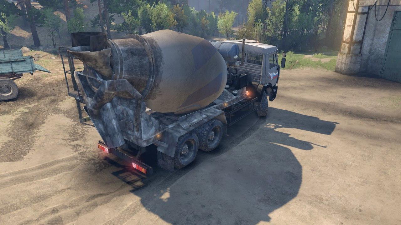Камаз 6520 бетоносмеситель для Spintires - Скриншот 3